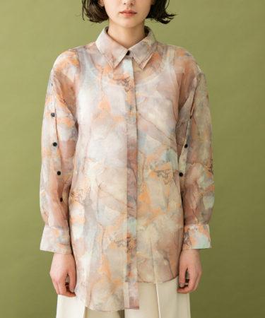 【私服情報】佐々木久美のタイダイ柄シャツはこれ!